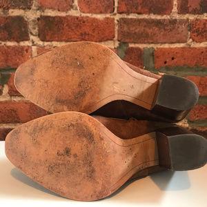 Sam Edelman Shoes - SAM EDELMAN WOMEN'S BROWN SUEDE ANKLE BOOT